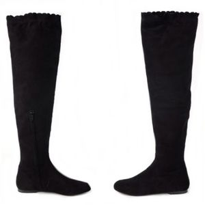 Marc Jacobs Boots Suede Thigh High | Size 37
